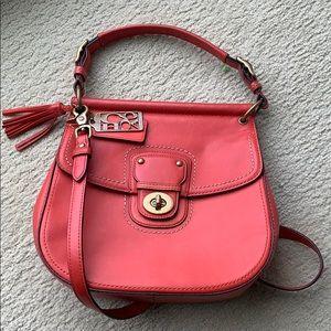 Coach 19132 poppy leather Willis crossbody handbag